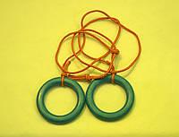 Кольца  детские гимнастические подвесные пластиковые