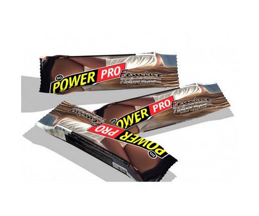 Батончик Power Pro Femine Bar з фундуком та арахісом 60 г труфальє, фото 2