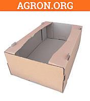 Лоток Яблочный бурый 585*375*190 мм из гофрокартона 32 для фруктов овощей 18-22 кг - Ящики из гофрокартона и Шпона