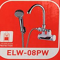 Проточный водонагреватель Zerix ELW-08PW настенный