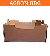 Лоток Персиковый бурый 395*300*146 мм из гофрокартона 8 кг - Ящики из гофрокартона и Шпона