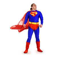 Карнавальный костюм для взрослых аниматоров Супермен