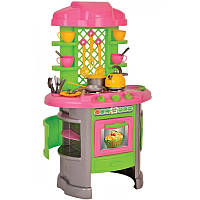 """Игрушка """"Кухня 8 ТехноК"""", арт. 0915, детская игровая кухня, игра для девочек, кухонный набор, посудка, плита"""