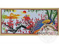 Набор для вышивки картины Павлины 160х72см 373-37010685