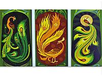Набор для вышивки картины Чудо - Птицы 123х69см 373-37010693