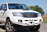Силовий бампер Toyota Hi-Lux `12+, фото 5