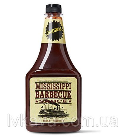 Соус BBQ Mississippi original , 1814 гр, фото 2