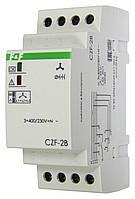 Реле контроля наличия, асимметрии фаз и контроля состояния контактора CZF-2B 380В 10А 2S F&F