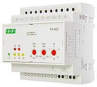 Автоматический переключатель фаз PF-452 380В 16А 5S F&F