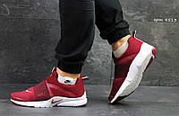 Кроссовки Nike Air Presto (бордовые) кроссовки найк nike
