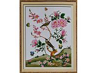 Набор для вышивки картины Соловьи 75х57см 373-37010687