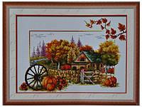 Набор для вышивки картины Дары Осени 65х45см 372-37010747