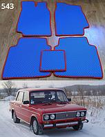 Коврики на Lada (Ваз) 2101-2107 '81-12. Автоковрики EVA