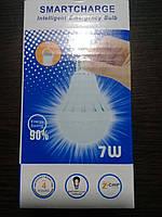 Светодиодная лампа с аккумулятором (аварийное освещение), 7 Вт
