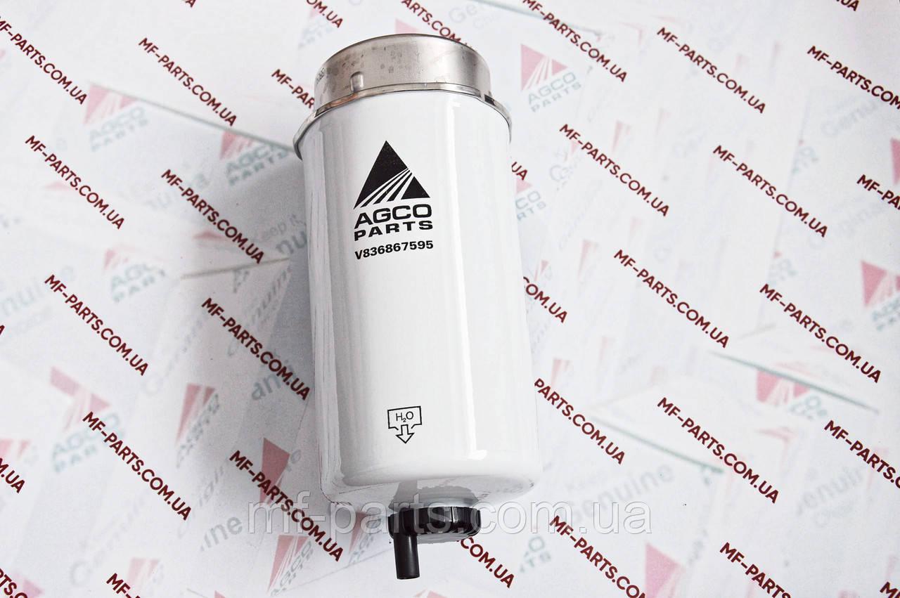 V836867595 фільтр паливний ОРИГІНАЛ AGCO