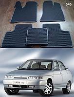 Коврики на Lada (Ваз) 2110-12 '95-14. Автоковрики EVA, фото 1