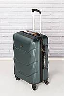 Брендовий Ультролегкий чемодан средний WINGS  147  CARBON