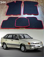 Коврики на Lada (Ваз) 2113-15 '97-12. Автоковрики EVA, фото 1