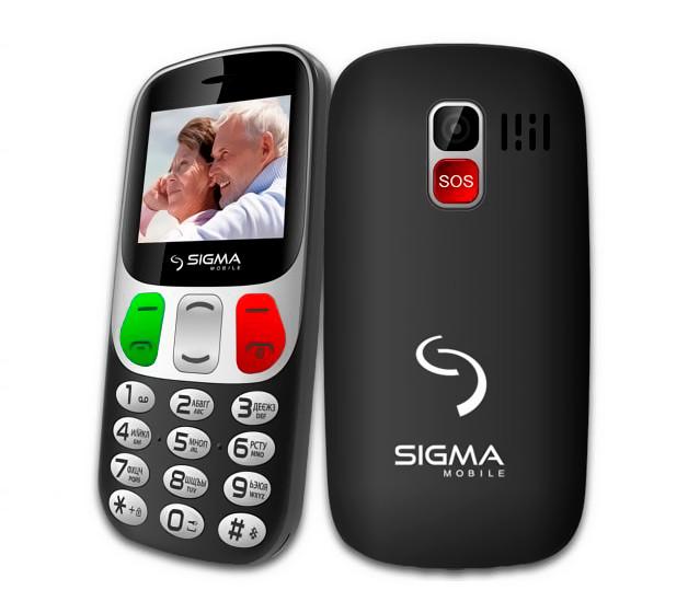 Мобильный телефон Sigma mobile Comfort 50 Retro Black