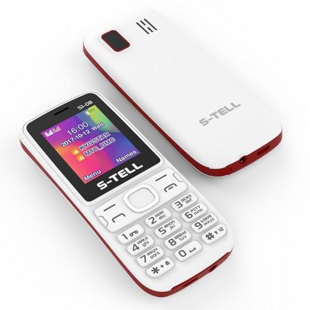 Мобильный телефон S-Tell S1-08 White на 2 сим-карты