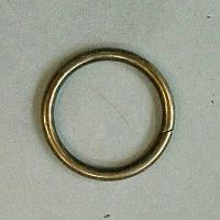 Кольцо литое сварное 25 мм антик