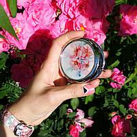 Карманное зеркало Цветение