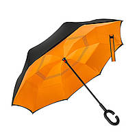 Популярный  зонт обратного сложения Up-Brella
