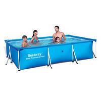 Каркасный бассейн Bestway 56405 (400х211х81 см), фото 1