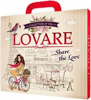 Lovare Портфельчик 12 видов чая по 5 пакетиков