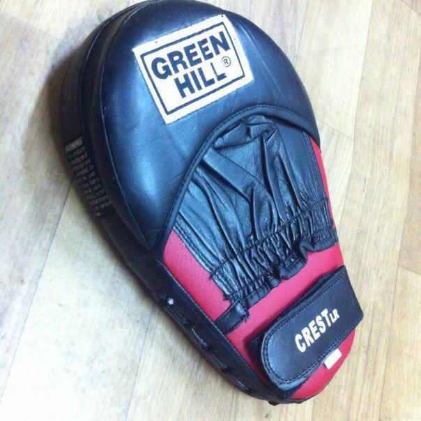 Лапы боксерская Green Hill Cuba FMR-5009