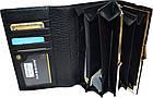 Женский кошелек из натуральной кожи Hassion (10x17.5) , фото 3