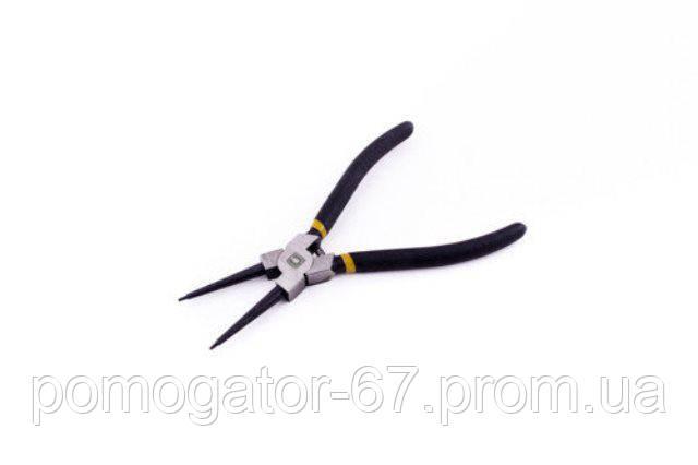 Съемники стопорных колец прямые на сжатие (обрезиненные) 175мм