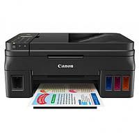 МФУ струйное цветное Canon G4400 (1515C009), Black, WiFi