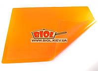 Силиконовый коврик 50х40см (оранжевый цвет) с нанесенными кругами для раскатки Empire EM-0058-2, фото 1