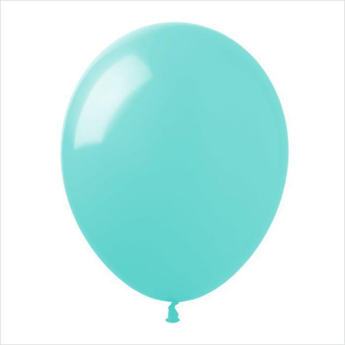 """Воздушные шары 10"""" пастель аквамарин (aquamarine) 100 шт ТМ Арт Шоу"""