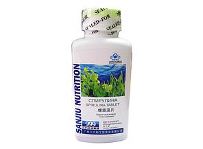 Спирулина для восстановления нормальной микрофлоры кишечника при дисбактериозах 500 таблеток, фото 2