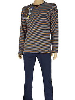 Мужская пижама Key MNS 380 B7 в стильной расцветке