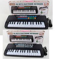 Синтезатор игрушка в кор на бат 32 клавиш микрофон 6 демо 8ритм 42*16*6см TX-6610-6632A (18)