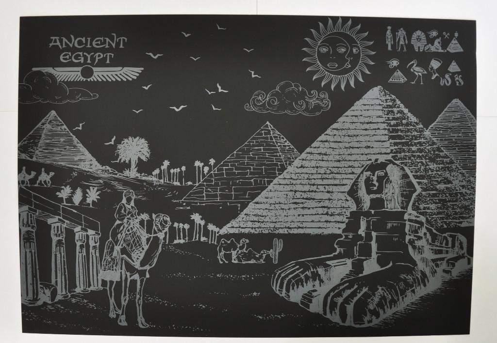 Скретч-картина Древний Египет 185-18414319 - DENDY™ в Киеве