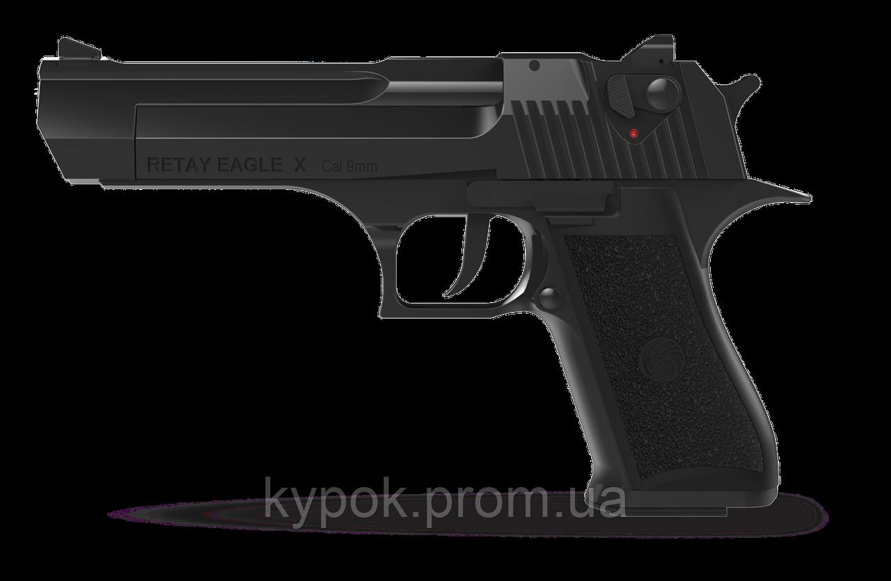 Пистолет стартовый Retay Eagle X кал. 9 мм цвет:Black