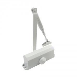 Доводчик дверной ECO-Schulte TS-10 ЕN 2/3/4 White с локтевой тягой