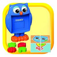 Игрушка для малышей Пазл «Сова» Томи (Уценка)