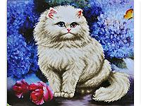 Набор для вышивки картины Пушистик 63х54см 373-37010695
