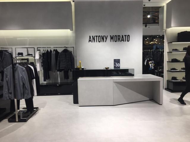 Итальянский известный бренд, одевающий мужчин уже открыт в ТЦ Большевик