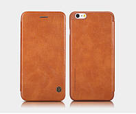 "Кожаный чехол (книжка) Nillkin Qin Series для Apple iPhone 6/6s (4.7"") Коричневый"