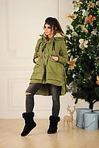 """Асимметричная женская куртка-трансформер """"TERNIDA"""" с карманами (2 цвета), фото 3"""