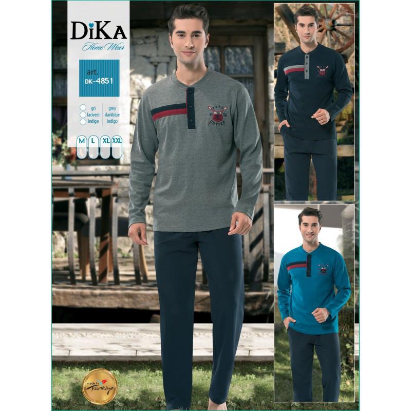 Домашняя одежда Dika - Пижама мужская 4851 XL a94b007dc96bc