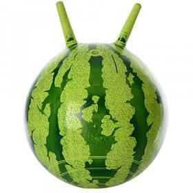 Мяч для фитнеса детский Арбуз MS 0473 (45 см) с рожками