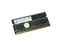Оперативная память SO-DIMM для ноутбука 2Gb, DDR2, 800 MHz (PC2-6400), Micron (MT16HTF25664HY-800J1)