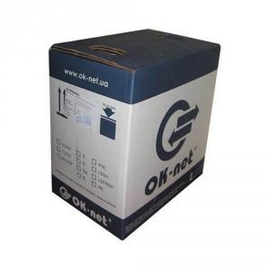 Кабель Одескабель КПВ-ВП (350) 4*2*0,50 (UTP-cat.5Е), OK-net, (CU), для внутр. работ, 305м.